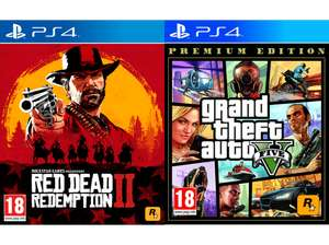 GTA 5 + Red Dead Redemption 2 (PS4) um 30 Euro