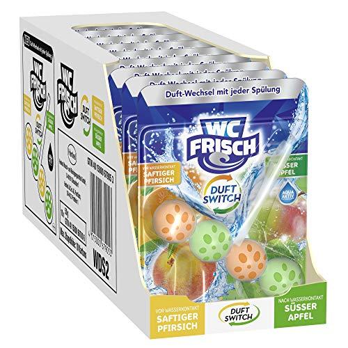 [SpülenmitTopper#2] 10x WC FRISCH (BLUE STAR) Saftiger Pfirsich und Süßer Apfel