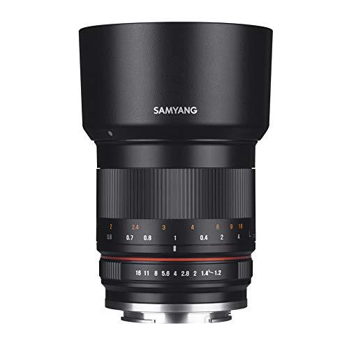 Samyang 50mm 1.2 AS UMC CS Objektiv für Canon EF-M (CSC spiegellos)