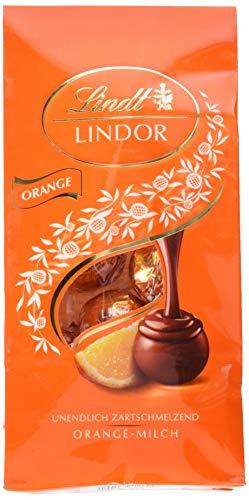 Lindt Lindor Beutel Orange-Milch Kugeln