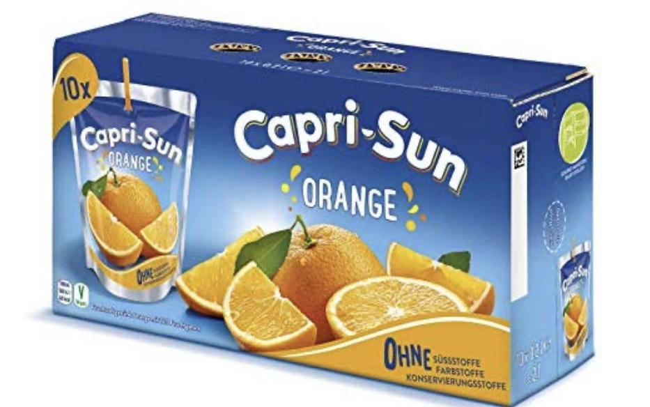 Capri-Sonne 10x 200ml, 2,92 €