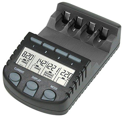 TechnoLine BC 700 Akku - Ladegerät mit LCD - Display, Microprozessor