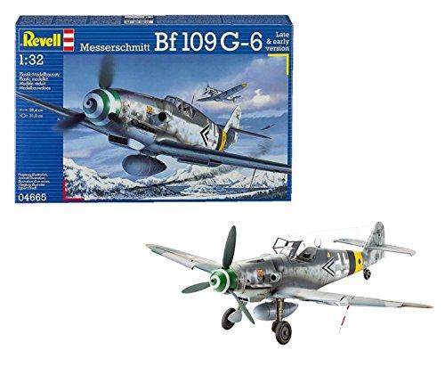 Revell Modellbausatz Flugzeug 1:32 - Messerschmitt Bf109 G-6