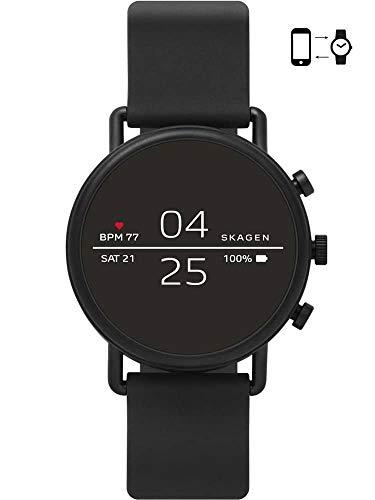 Skagen Herren-Smartwatch mit Silikon Armband SKT5100 Falster 2