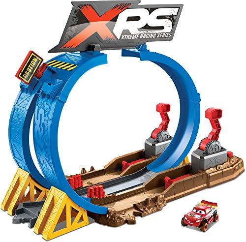 Disney Cars FYN85 - XRS Xtreme Racing Serie Crash Looping Spielset