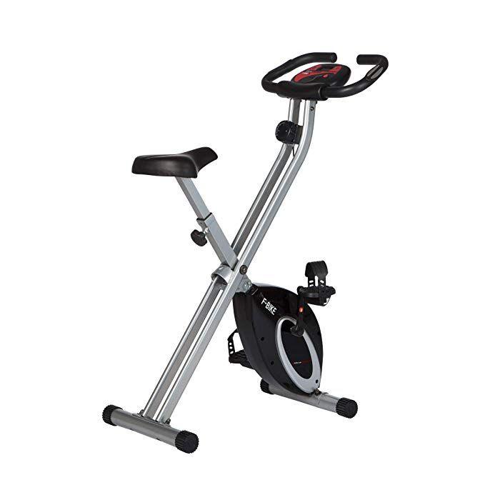 Ultrasport F-Bike Basics Hometrainer (klappbar, LCD Display, verstellbare Widertandsstufen, max. 100kg)