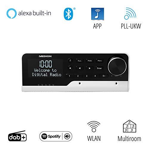 Unterbauradio mit Amazon Alexa, DAB+ usw.