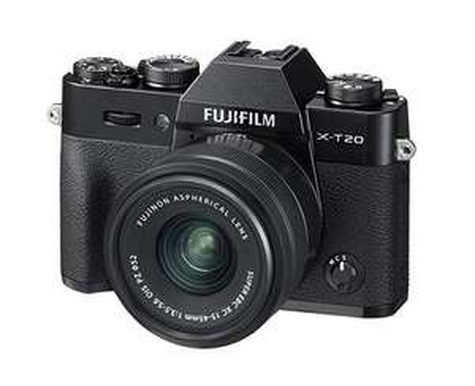 Fujifilm X-T20 Systemkamera (mit XC15-45mm Objektiv, 2,99 Zoll Touch Display, 24,3 Megapixel APS-C X-Trans CMOS III Sensor)