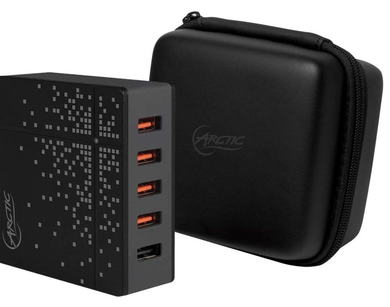 ARCTIC Global Charger 8000 - Intelligentes 5-Port USB Reiseladegerät 40W