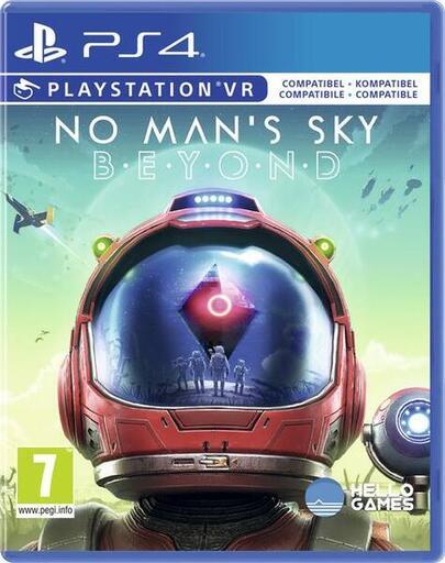 Lokal Libro No Man's Sky Beyond PS4 Version