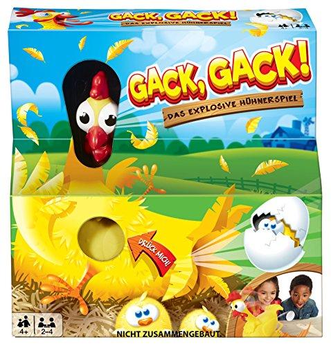"""Mattel Games """"Gack Gack"""" lustiges Hühnerspiel"""