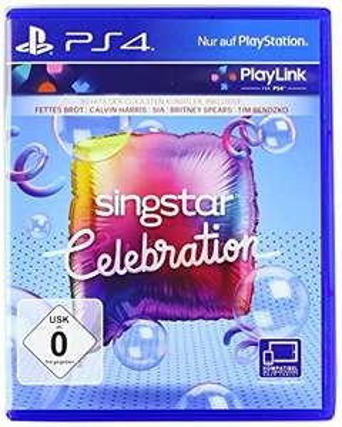 Universal - SingStar Celebration PlayStation 4 für 6,28€ bei Lieferung an Paketshop inkl. Füllartikel