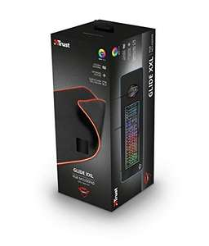 Trust Gaming GXT 764 Glide-Flex XXL RGB Mauspad (Größe: 930x300x3 mm, RGB LED Beleuchtung)