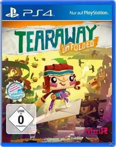 Diverse Spiele für PS4 um 2,50 Euro (Tearaway, Destiny 2, SingStar: Celebration)