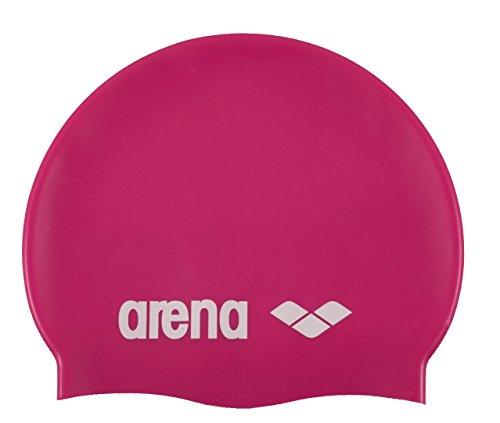 ARENA Classic Silikon Unisex Badekappe für Damen und Herren pink oder violett