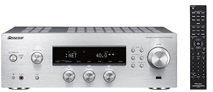 Pioneer SX-N30AE-S Multiroomfähiger Netzwerk Stereo-Receiver mit integriertem WiFi, Chromecast, tuneIN Internet Radio