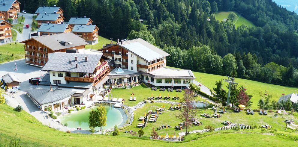 4* Alpinresort Schillerkopf: 2 Personen, 2 Nächte mit 3/4 Pension im März