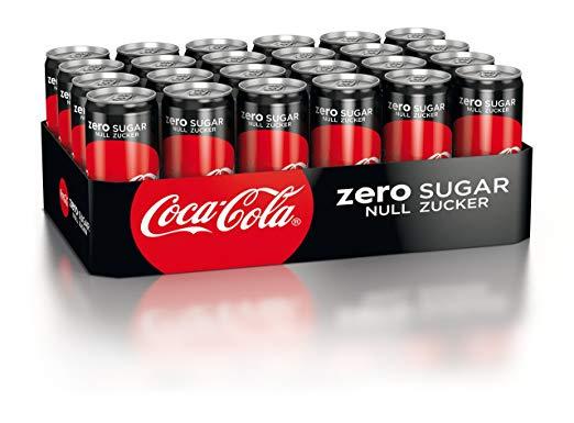 Cola/Cola Light/Cola Zero um nur 0.39€ ab 24Stk