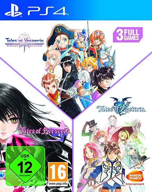 Tales of: Vesperia + Berseria + Zestiria (PS4)