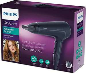 Philips DryCare Advanced Haartrockner HP8230/00 (2100 W, ThermoProtect Technologie, DC-Motor, 1 Aufsatz)