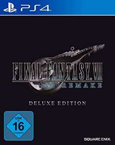 Final fantasy 7 Remake Deluxe Edition PS4