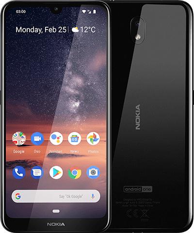 NOKIA 3.2 Dual-SIM 16 GB, schwarz