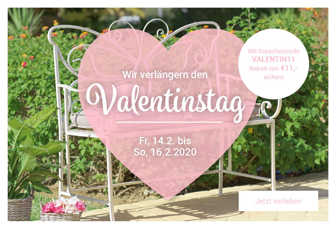 moebelix.at 11€ Valentinstagsrabatt ab 40€ MBW