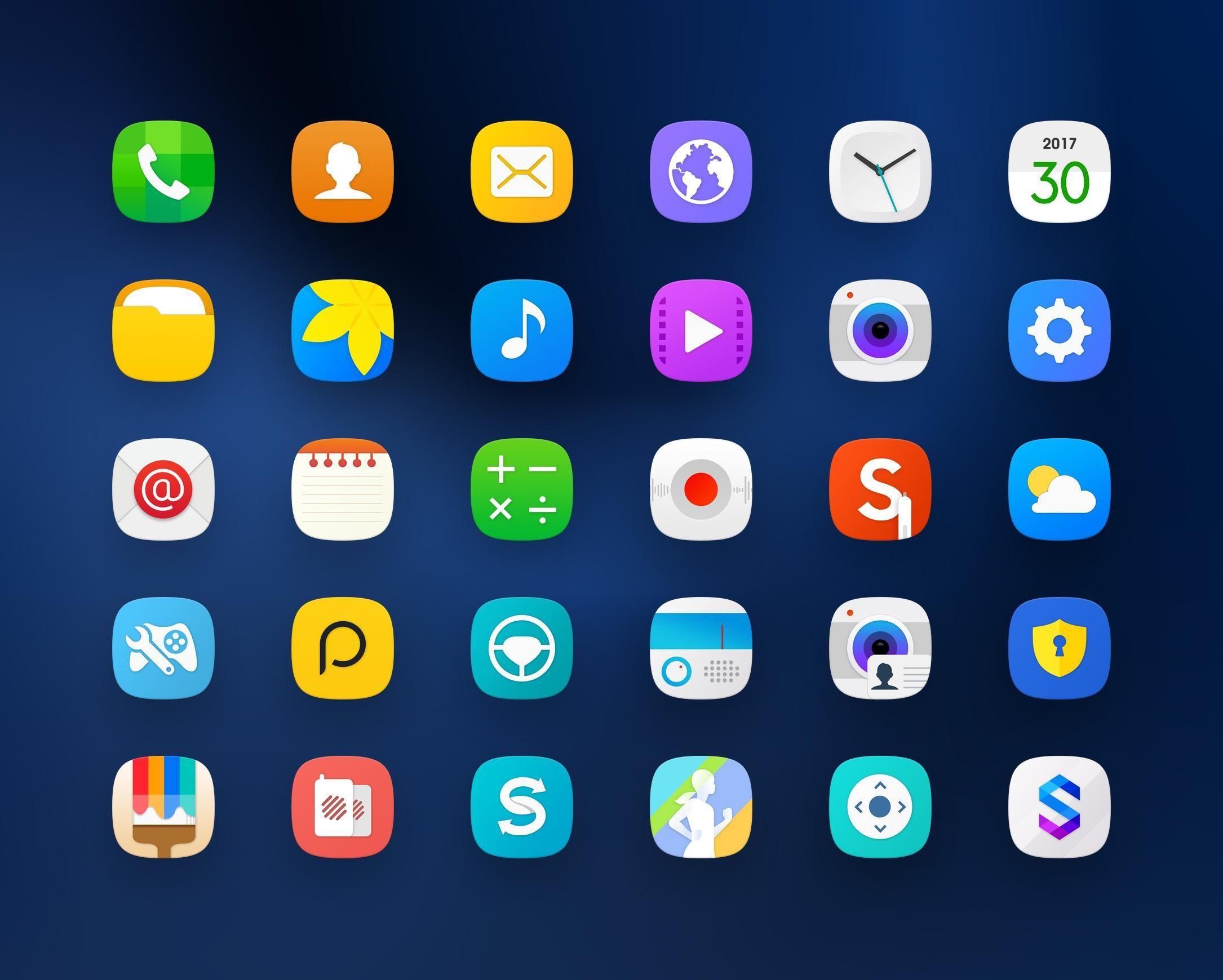 Diverse Icon packs kostenlos
