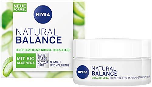 (3x) Nivea Natural Balance Tagescreme Aloe Vera zum Top-Preis bei Amazon