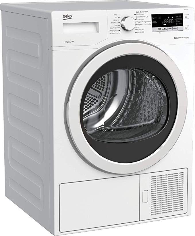 Beko DE 8535 RX0 Wärmepumpentrockner (8 kg, A+++, Multifunktionsdisplay, Knitterschutz, reversierende Trommelbewegungen)