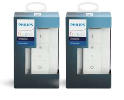 (MM/Saturn) Philips Hue Dimmschalter Doppelpack für 26 Euro