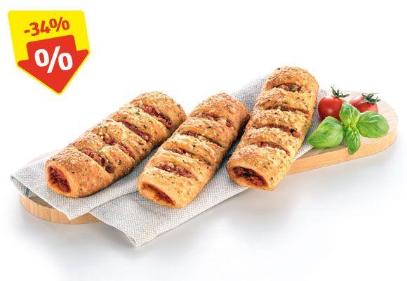 [Hofer] Vegetarisches Pizzaweckerl 59 Cent, Eiweißweckerl 39 Cent, BIO-Bananen FAIRTRADE 1,29 Euro uvm