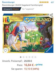 Amazon Ravensburger Sagaland