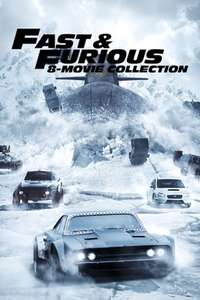 iTunes - Fast & Furious 8 Movie Collection, 4K (Preis je Film 2.50€)