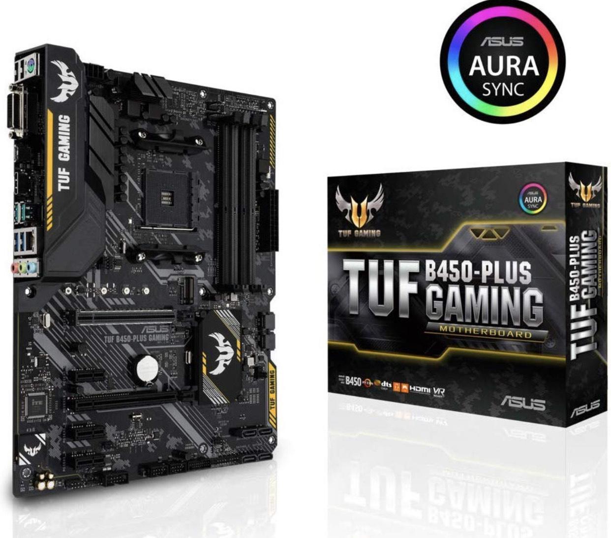 ASUS TUF B450-Plus Gaming Mainboard (90MB0YM0-M0EAY0)