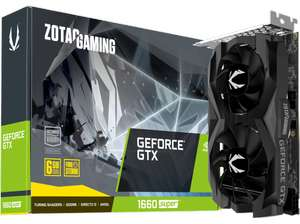 ZOTAC Grafikkarte GeForce GTX 1660 SUPER Twin Fan 6GB (ZT-T16620F-10L)