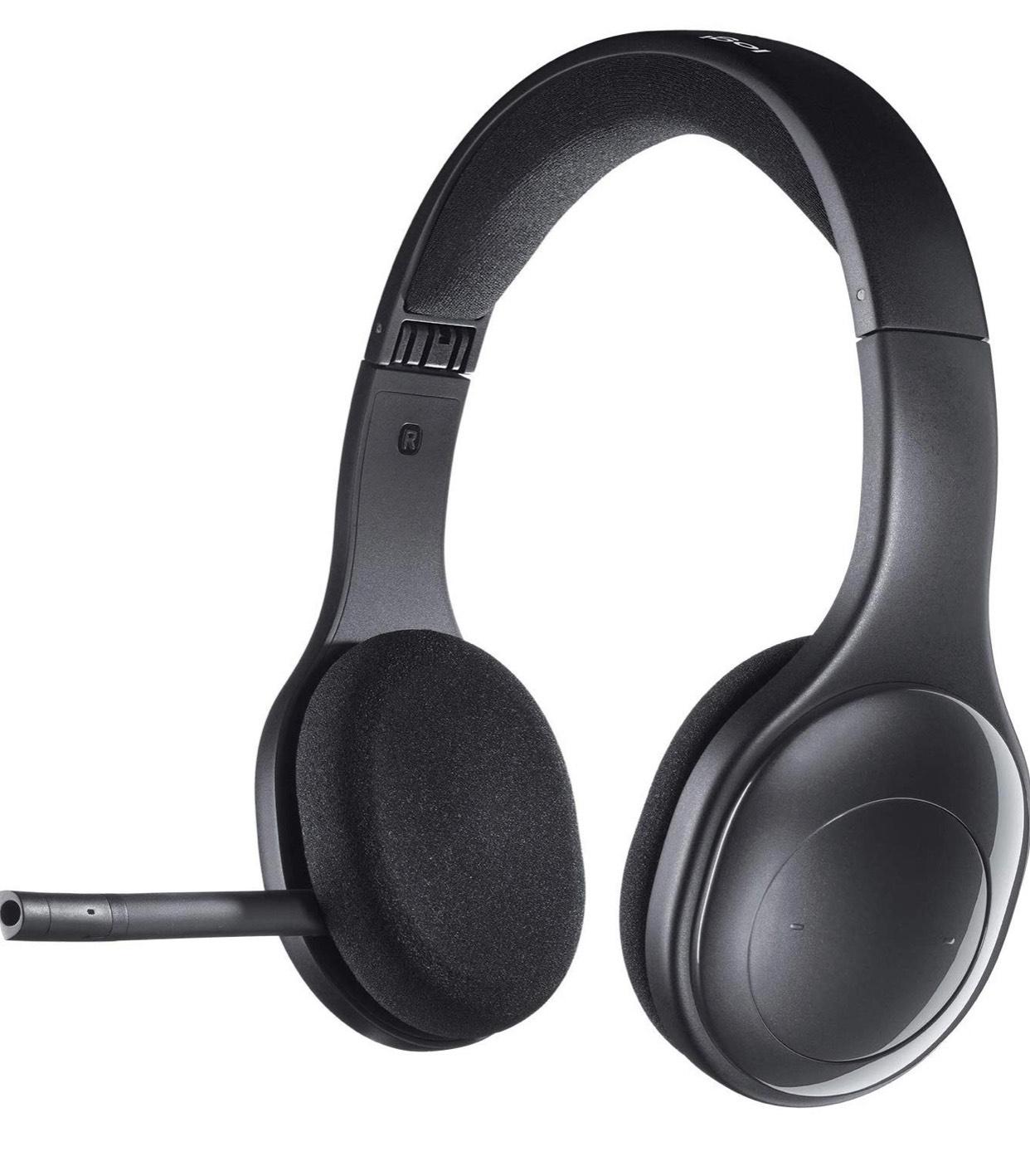 Logitech H800 Wireless Bluetooth Headset, Hi-Definition Stereo-Kopfhörer mit Noise-Cancelling Mikrofon