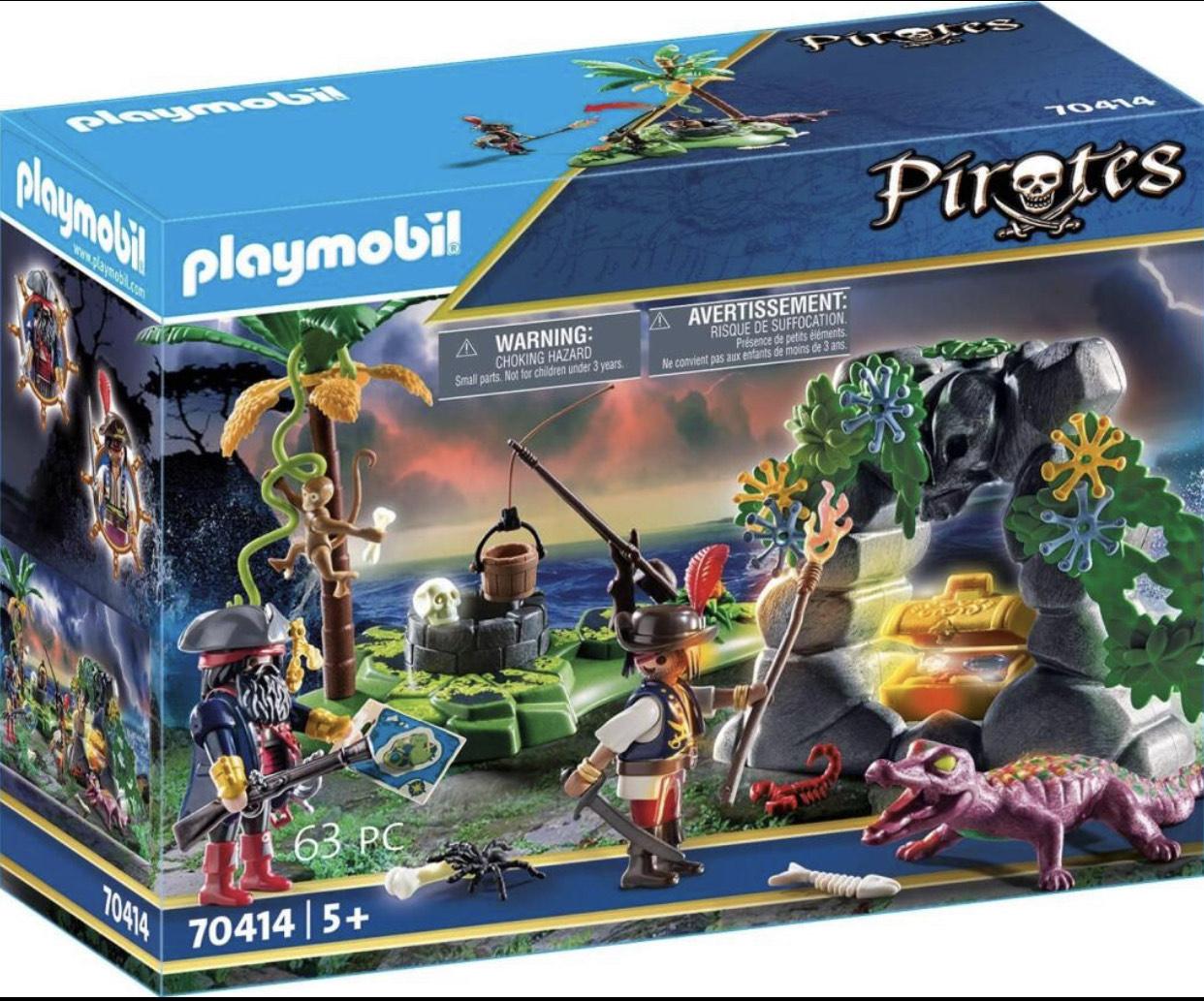 playmobil Pirates - Piraten-Schatzversteck