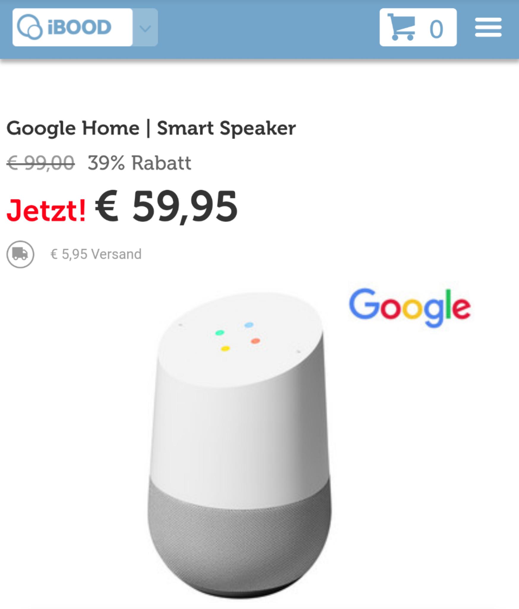 Google Home - iBood