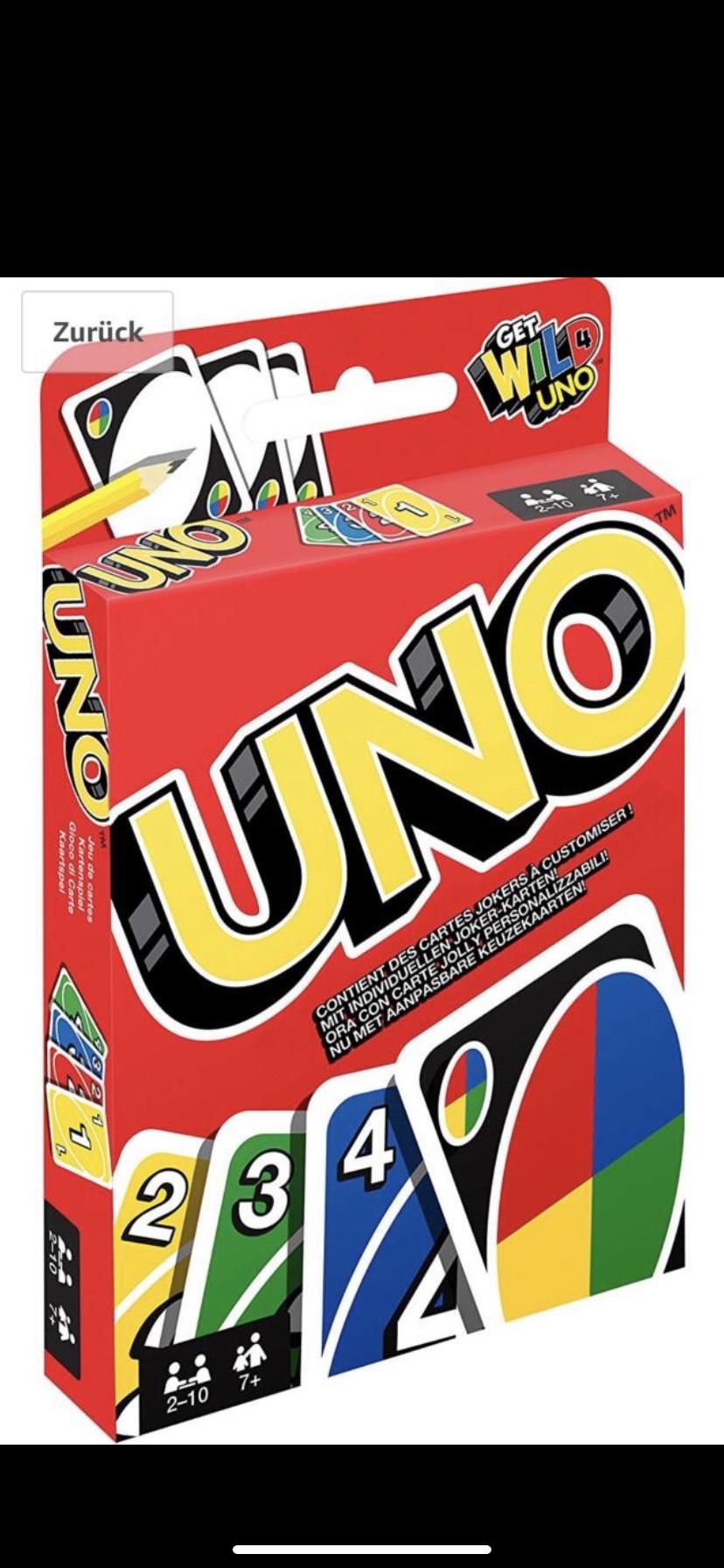 Uno Kartenspiel (neue Version)