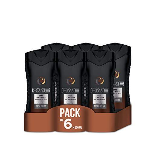 Amazon.de l Beauty-Jäger l 6er Pack (6 x 250 ml) AXE Duschgel Dark Temptation für Prime Mitglieder € 6,27