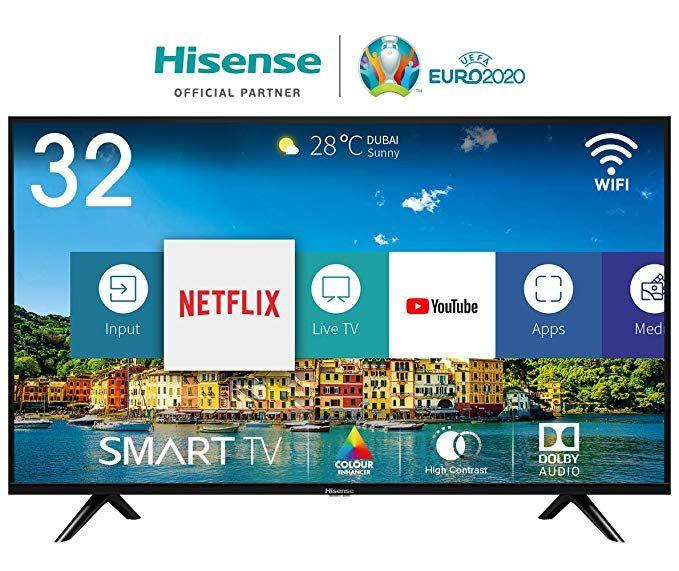 """Hisense H32BE5500 32"""" Fernseher (43"""" H43BE7000 für 242,01 €)"""
