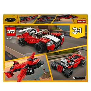 LEGO 31100 Creator 3-in-1 Sportwagen-, Hot Rod-, Flieger-Bauset