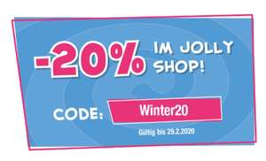 JOLLY: -20% im Online Shop
