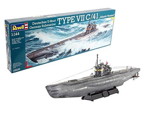 Revell: Deutsches U-Boot Typ VIIC/41 - Maßstab 1:144 (Level 4)