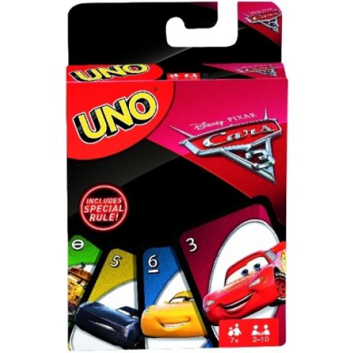 UNO Cars 3 Kartenspiel