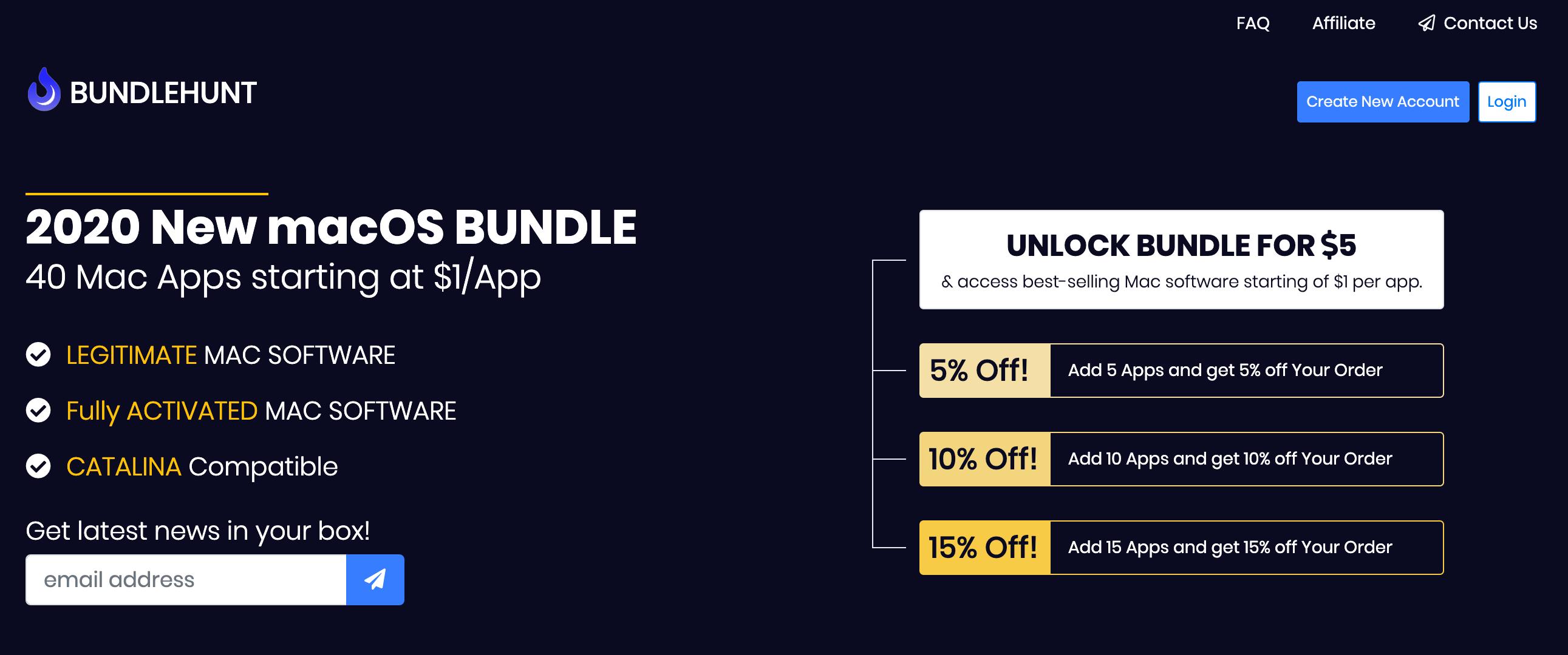 2020 New macOS BUNDLE 42 Mac Apps ab 0.5€ bis 5€