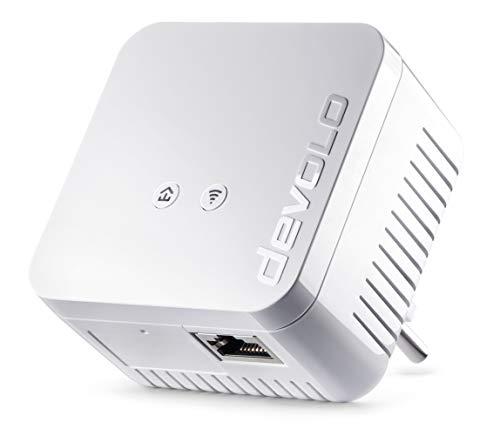 @Amazon devolo dLAN 550 WiFi Powerline (Internet über die Steckdose, WLAN, 1x LAN Port, 1x Powerlan Adapter) Bestpreis um 41,84€
