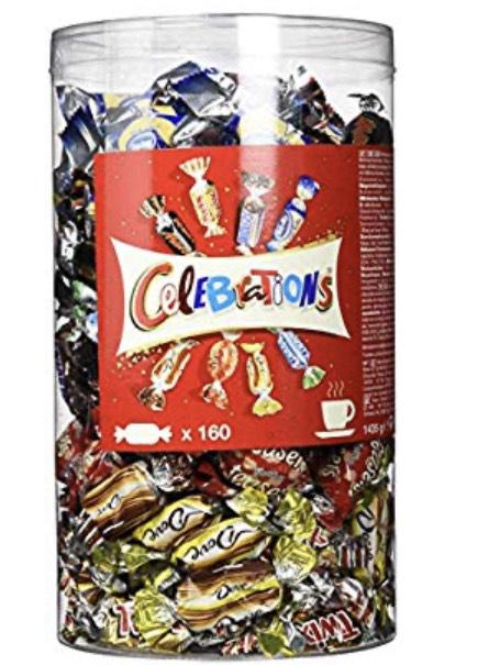 [Amazon] 1,4kg Celebrations - 160 Stück