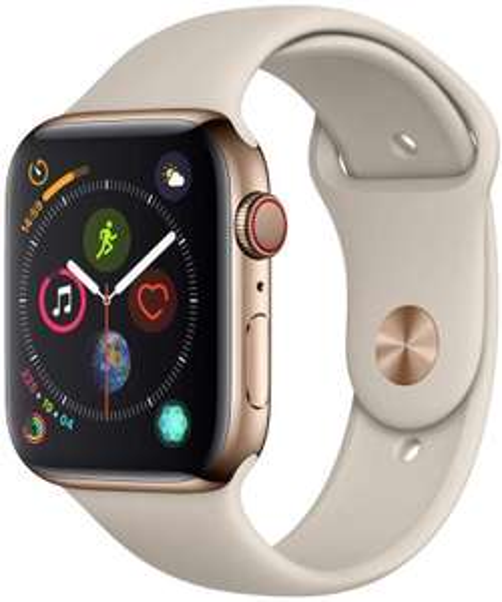 Apple Watch Series 4 (LTE, 44mm, Edelstahl)